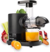 Sieham Slowjuicer - Verse Fruit Smoothies en Groente sapjes - BPA Vrij - Persschroef - Droge Pulp - 500 ml - 150W - Zwart