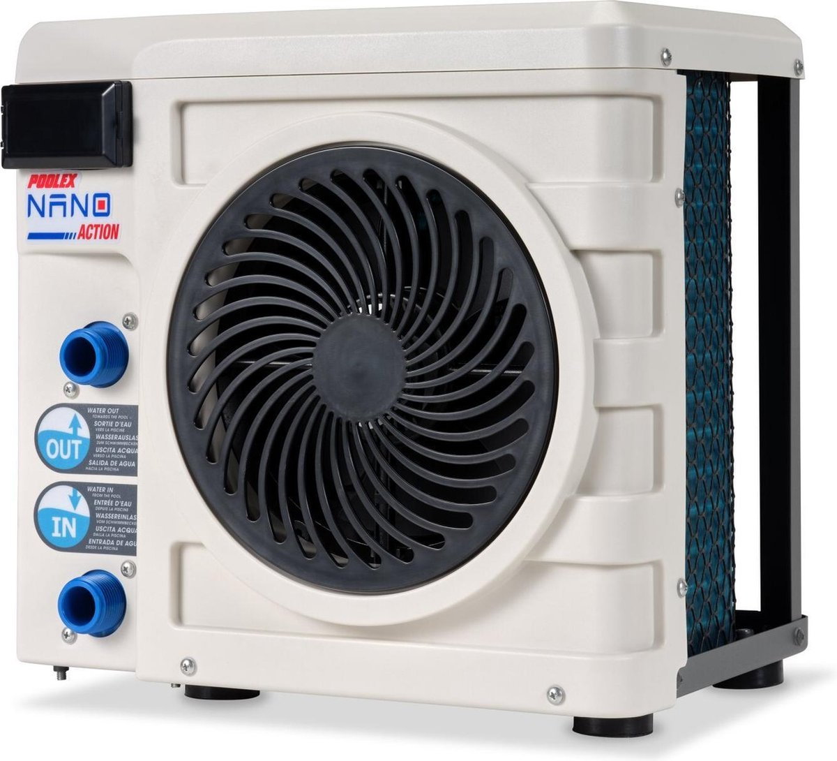 Poolex Nano Plug & Play Zwembad Warmtepomp 2,5kW met Slang