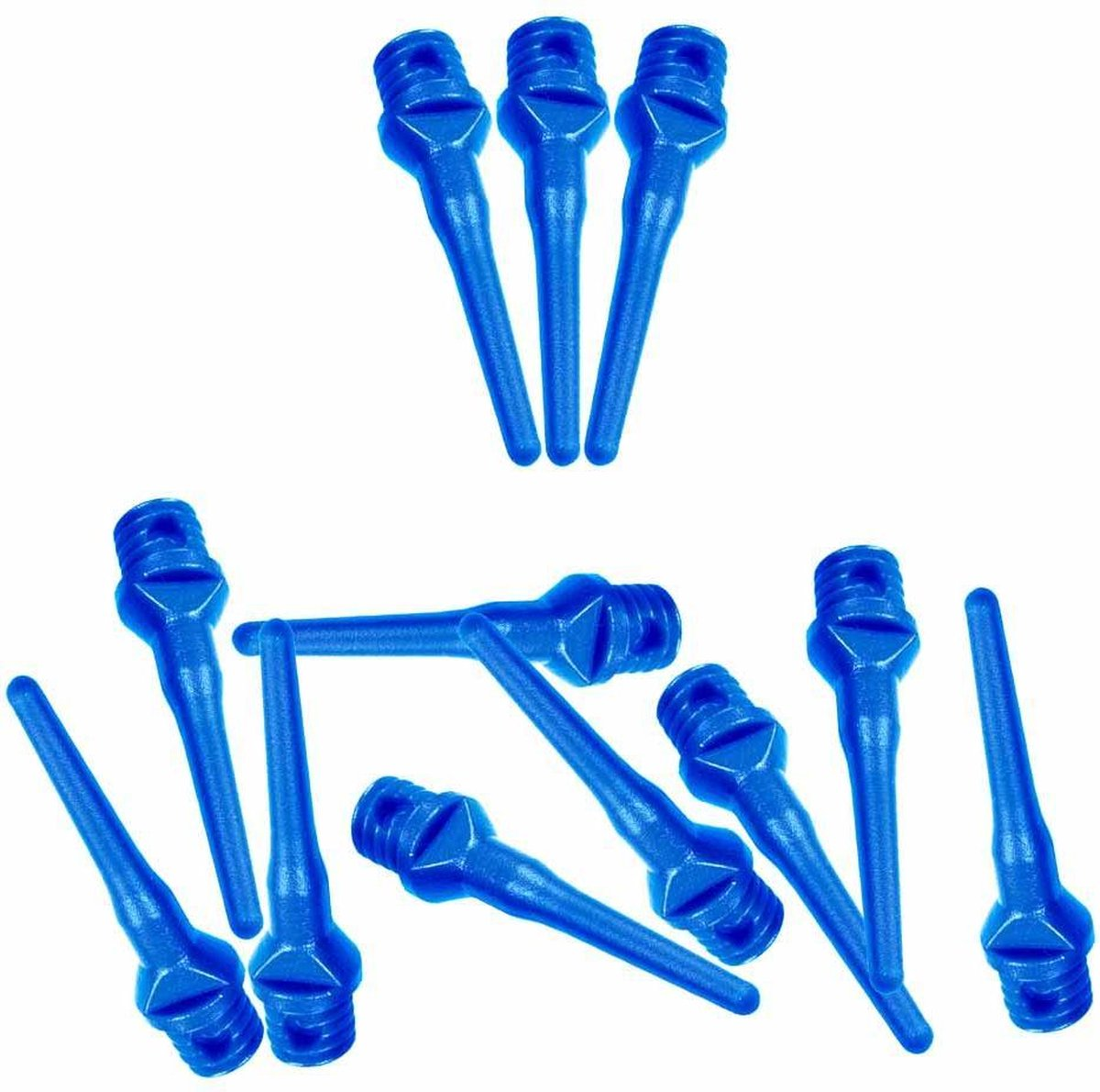 ABC Darts - Softtip Dartpunten 25 mm - Blauw - ca 1000 stuks