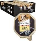 Sheba Mini Filets in Saus Katten Natvoer - Kip & Kalkoen - 22 x 85 gram