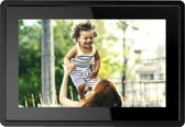 "Denver PFF-1021 - 10.1"" digitale fotolijst -  Digitaal fotokader - WiFi - FRAMEO Software - IPS touchscreen - 16GB - Zwart"