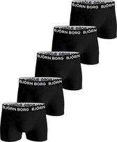 Björn Borg Boxershort Core - Onderbroeken - 5 stuks - Jongens - Maat 158-164 - Zwart