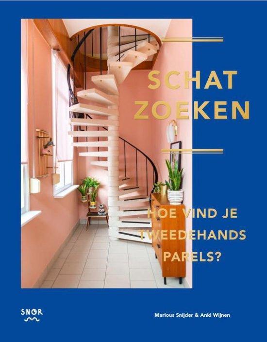 Boek cover Schatzoeken van Anki Wijnen (Hardcover)
