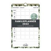 Hobbit - Familieplanner - Bladeren - 2022 - Spiraalgebonden - Voor 5 personen - Week per pagina - A4+ (32,5x21cm) - Groot