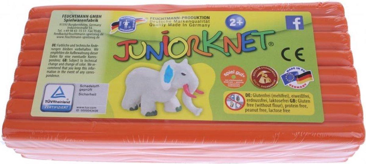 Juniorknet Klei Jumbo Pack 500 gram Oranje