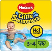 Huggies Little Swimmers - zwemluiers - maat 3/4 - (7 tot 15 kg) - voordeelverpakking