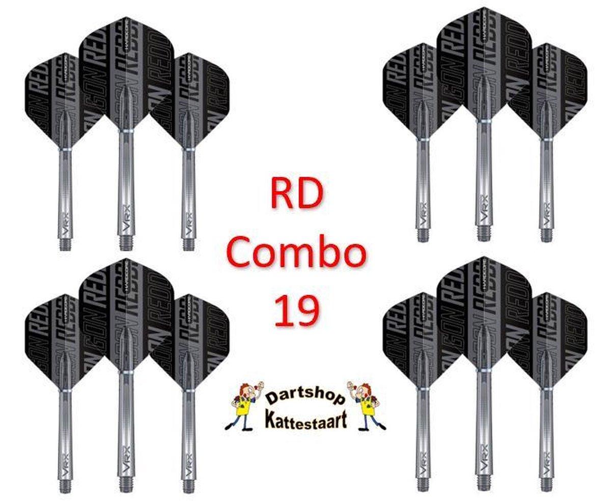 Red Dragon Flights & Shafts Combo 19
