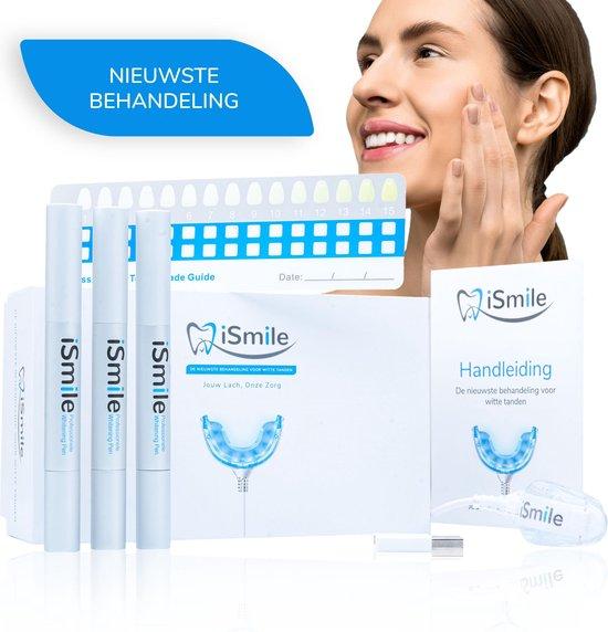 iSmile® Professionele Tandenbleekset - Veilig Tanden Bleken - Zonder Peroxide - Witte Tanden  - Teeth Whitening