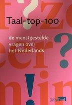 Boek cover Taal-top-100 van Genootschap Onze Taal