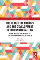 Omslag The League of Nations and the Development of International Law