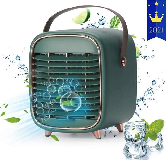 Mini Airco - Mobiele Airco - Luchtkoeler - Airconditioning - Ventilator -...