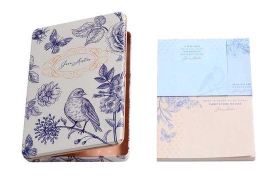Afbeelding van het spel Jane Austen Sticky Note Tin Set