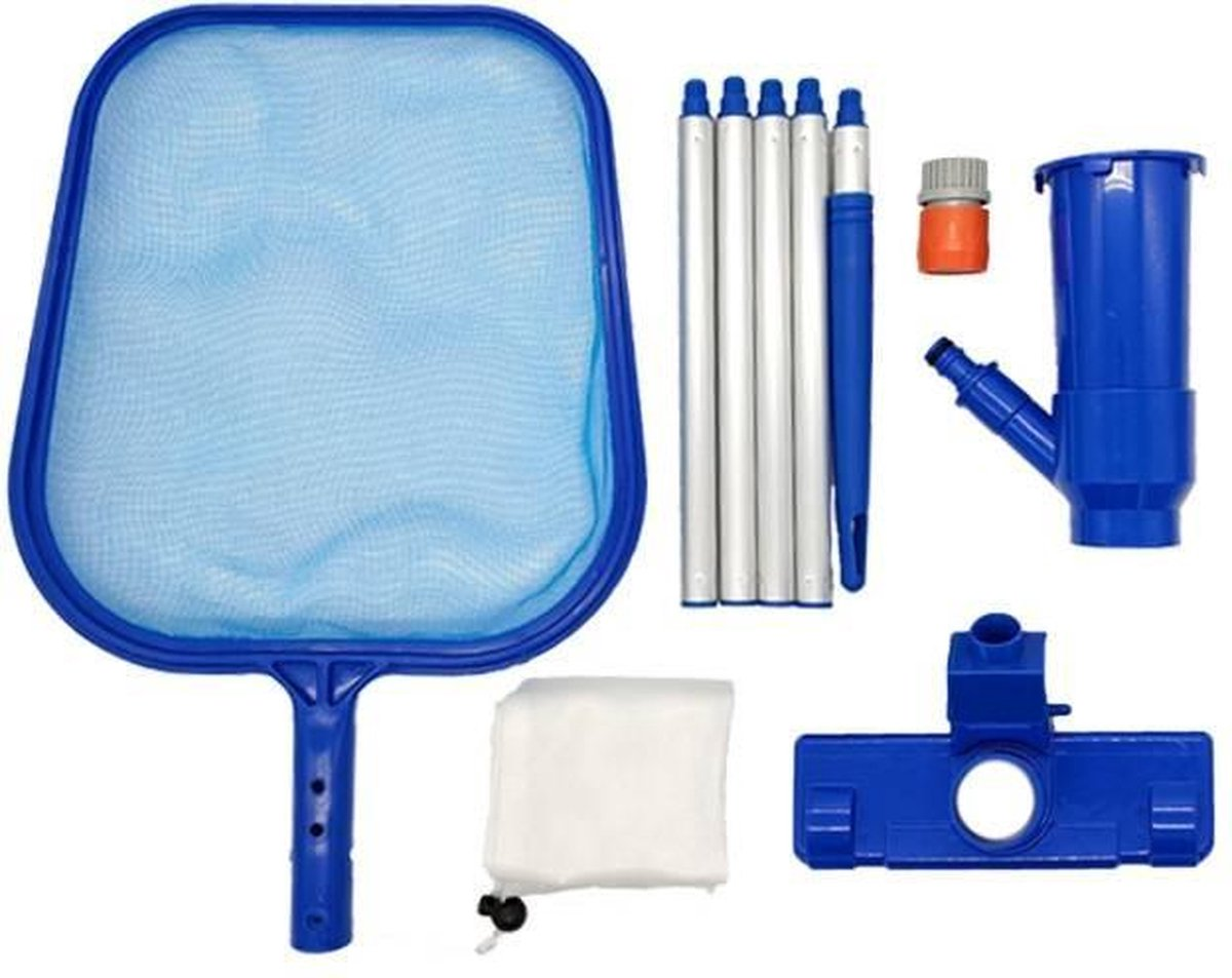Zwembad stofzuiger - Schepnet - Onderhouds set - Vang net - stofzuiger - Zwembad