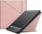 Achaté Kobo Libra H2O Hoes - Met Magnetische Sluiting en Auto Sleep Functie - Rose Gold - Cover - Limited Edition - High Quality