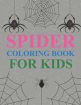 Spider Coloring Book For Kids