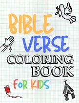 Bible Verse Coloring Book for Kids: 54 Color Pages of Inspirational & Motivational Bible Scripture with Mindfulness Mandala Patterns