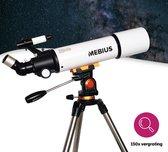 MEBIUS Telescoop - 150X - 80/500mm - Sterrenkijker - Lenzentelescoop - Incl. Statief en Smartphonehouder