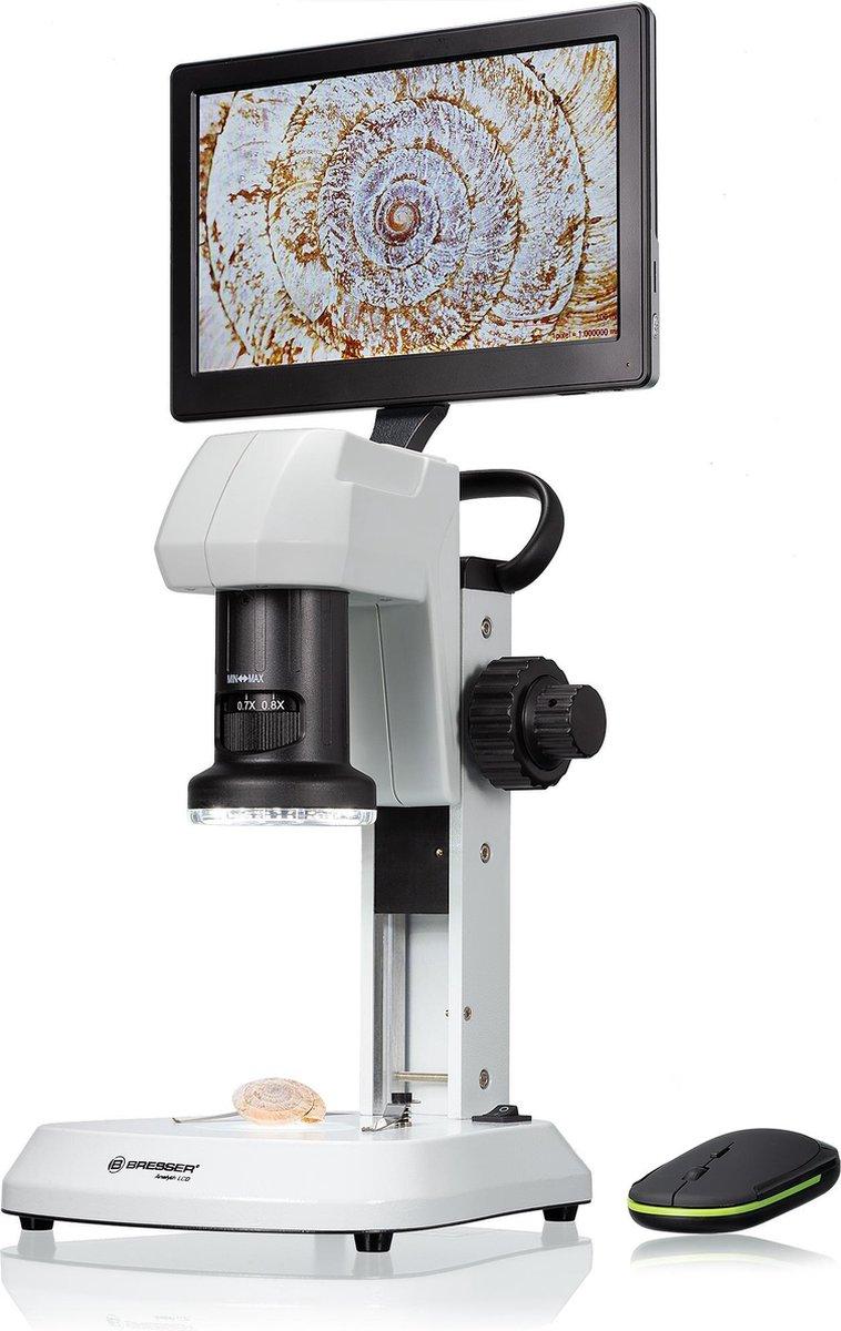 Bresser Microscoop - Analyth LCD - Geschikt voor Opvallend Licht - Verlichting Instelbaar