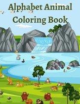 Alphabet Animal Coloring Book
