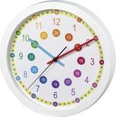 Hama Wandklok Voor Kinderen Easy Learning Diameter 30 Cm Geluidsarm