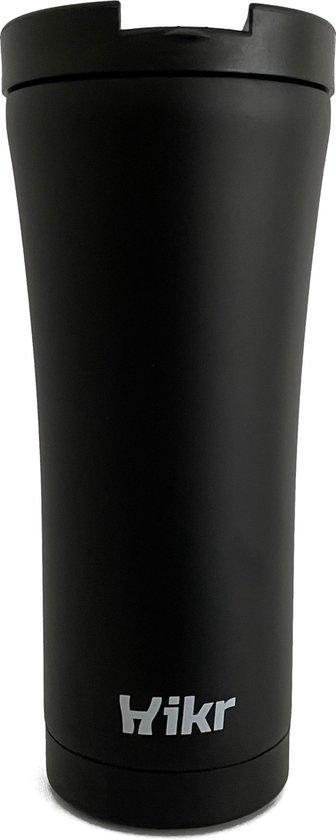 Koffiebeker to go - 500ml - Thermosbeker - Lekvrij & Vacuüm - Roestvrij staal - Koffie & Thee beker - Hiking & Wandelen