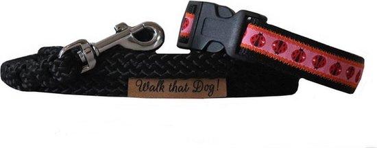 Puppyset | set | puppy halsband | puppy lijn | handgemaakt | uniek | puppy | hondenlijn | hondenhalsband | Walk that Dog! | Ladybirds