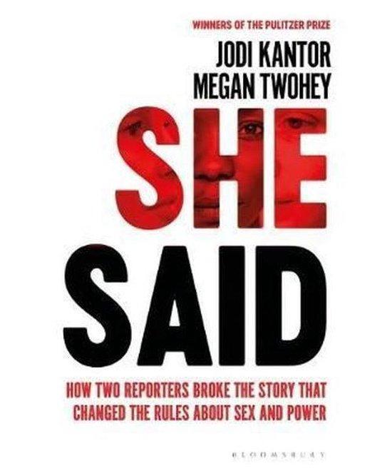 Boek cover She Said : The New York Times Bestseller van Jodi Kantor (Paperback)