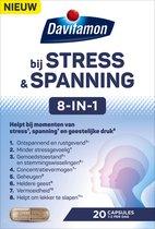 Davitamon bij Stress  & Spanning 8-in-1 - Voedingssupplement - 20 capsules