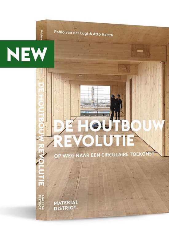Boek cover De Houtbouw Revolutie van Pablo van der Lugt (Paperback)
