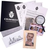 Crimibox - Dossier Schild - Escape Room Game voor Thuis - Detective Spel