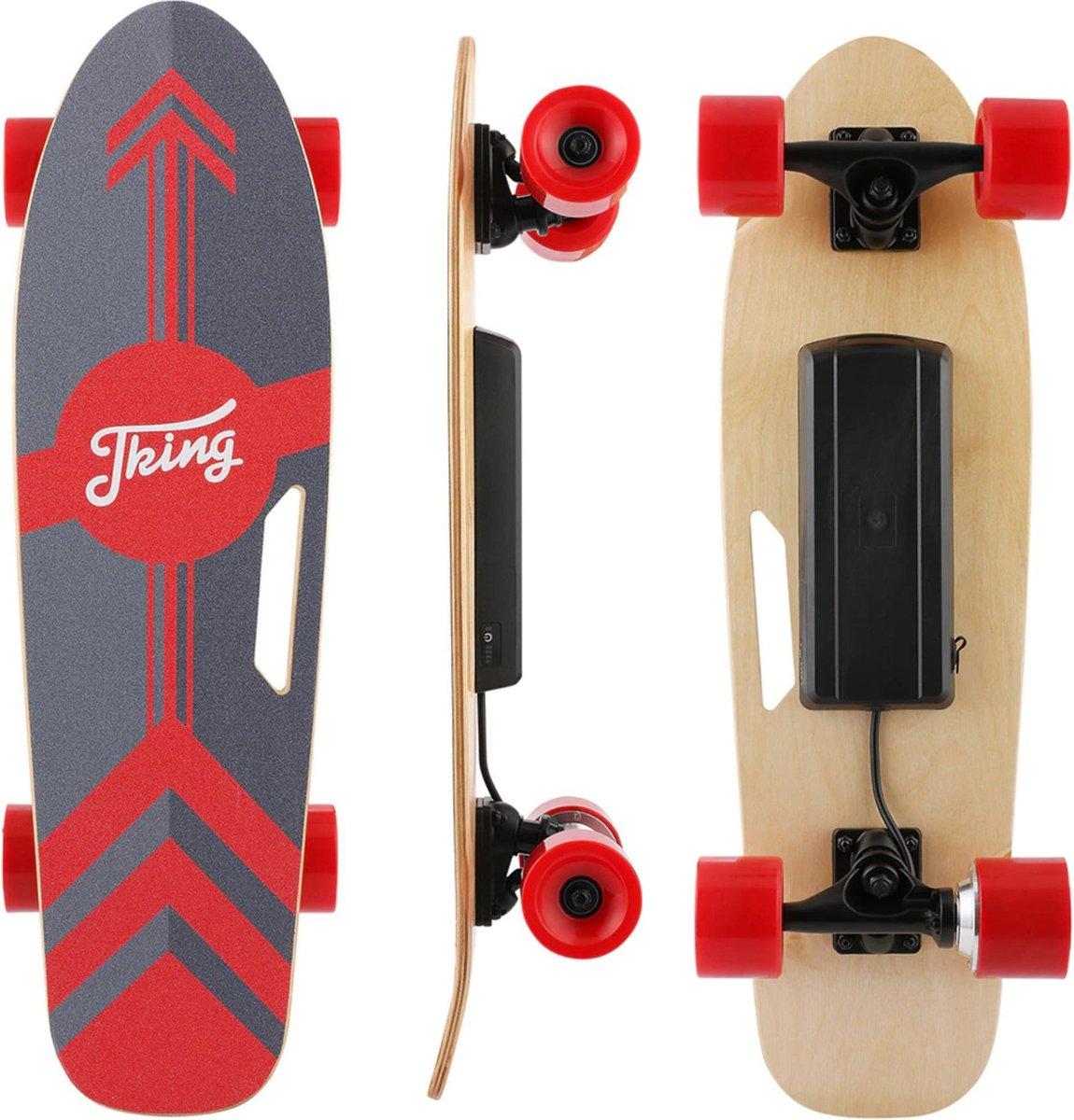 Elektrisch Skateboard - Elektrisch Longboard - Inclusief Controller - 20 km/u - 10km Bereik