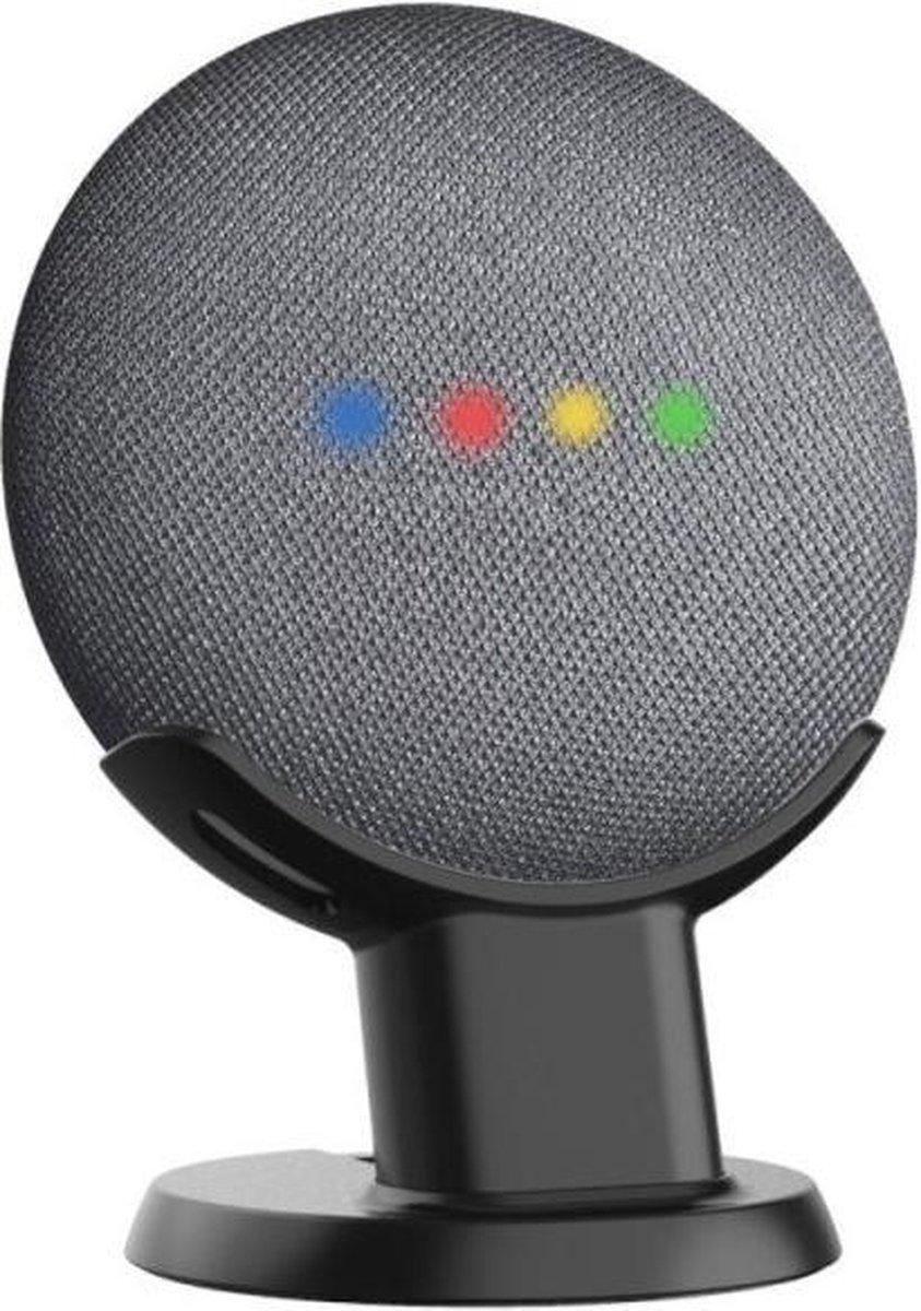 Antislip Tafel Standaard Houder Voor Google Nest & Google Home Mini Smart Speaker - Zwart