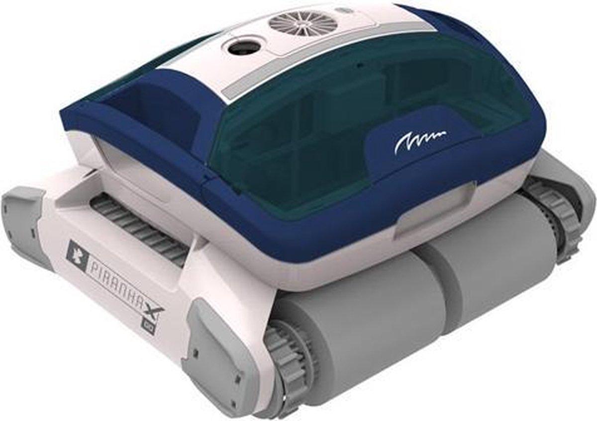 Piranha X Go zwembadreiniger PREMIUM zwembadrobot - aanbieding - 3 jaar garantie -