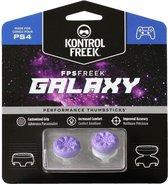 KontrolFreek FPS Freek Galaxy Purple voor PlayStation 4 (PS4) en PlayStation 5 (PS5) | Performance Thumbsticks | 1 High-Rise, 1 Mid-Rise | Paars
