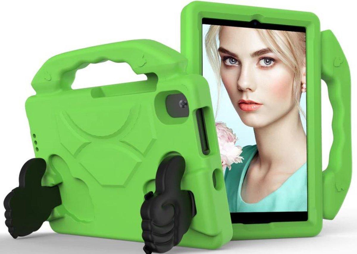 Kindertablet M81 Groen - kidstablet - disney+ netflix - Tablet 8 inch - 64GB - Android 9.0 - vanaf 2 jaar - Scherp hd ips beeld - leerzame tablet voor kinderen - Wifi - Bluetooth - voor camera - sim kaart slots - kinder tablet - uitstekende batterij