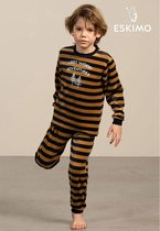Eskimo pyjama jongens - beige - Peeta - maat 128