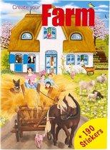 Creative Studio Create your Farm Mini Stickerboek