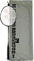 Yonex Carbonex 6000N met beschermende draagtas 'ik hou van badminton'