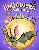 Toddlers Halloween Coloring Book Ages 2-4