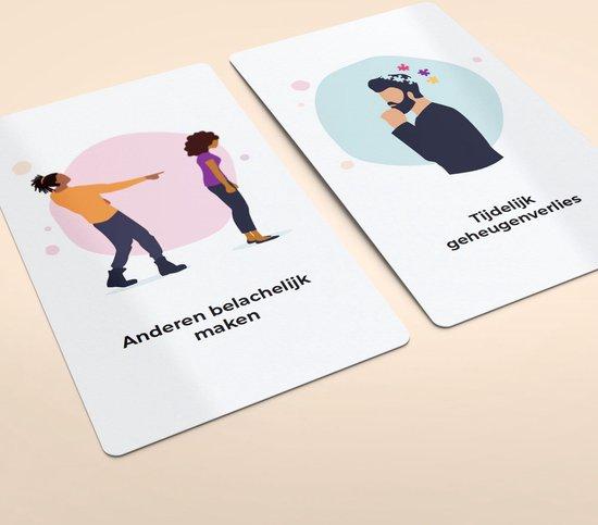 Thumbnail van een extra afbeelding van het spel Stress! Herken jij de signalen? Coachkaarten