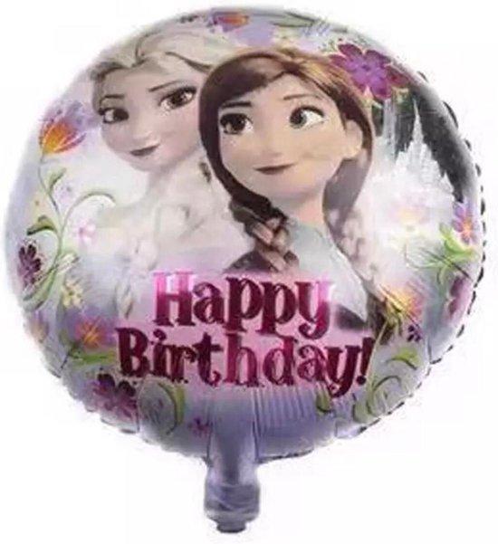 Frozen  Elsa & Anna Thema 18 Inch Baby Shower Partij Aluminium Folie Ballonnen Decoratie Ballonnen  Kids Verjaardag