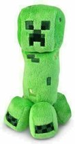 Creeper Minecraft Knuffel | 25cm | Pluche | Steve | Minecraft Bedrock | Minecraft Dungeons | Blokkenspel | Groen Monster | TNT | Pocket Edition