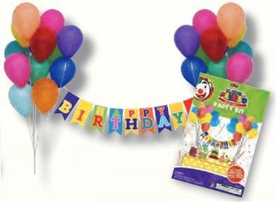 Ballonnen decoratie kit - Happy Birthday