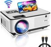 Strex Beamer - Input tot Full HD - 6500 Lumen - Streamen Vanaf Je Telefoon Met WiFi - Mini Projector