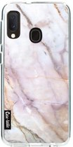 Samsung Galaxy A20e hoesje Pink Marble Casetastic Smartphone Hoesje softcover case
