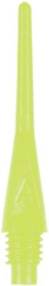 Bull's Axx Long Softtips (2ba) 27,9 / 6 Mm Geel 100 Stuks