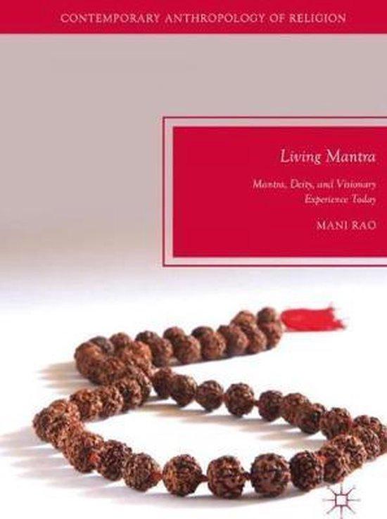 Boek cover Living Mantra van Mani Rao (Hardcover)