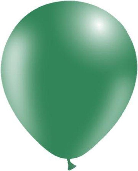 Donkergroene Ballonnen 30cm 50st