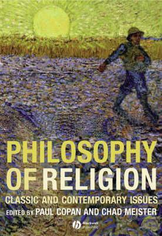 Boek cover Philosophy of Religion van Copan, Paul (Hardcover)