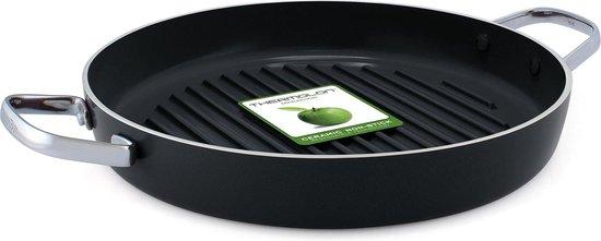 GreenPan Essentials Keramische Grillpan - Ø28 cm - Inductie